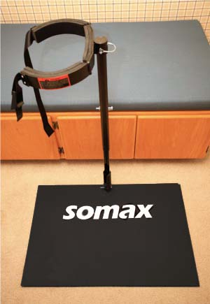 Swing Speed Trainer, closed position
