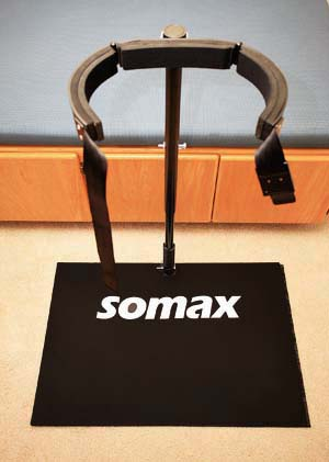 The Somax Power Hip Trainer. The only golf training aid that builds the secret hip strength of scratch golfers!